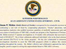 Superior Performance by AUSA Mehta