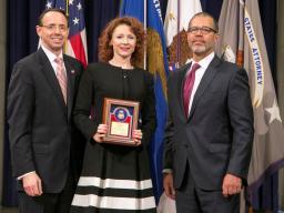 Award Recipient Gina Wetherald