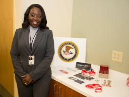 Reentry & Outreach Specialist Khaliah Daniels