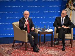 Attorney General Sessions with Professor Randy Barnett