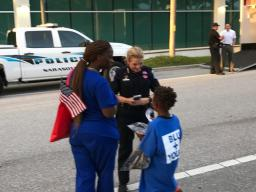 Chief welcomes Sarasota residents