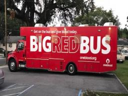 Big Red Bus in Orlando