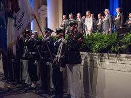 Color Guard and Pledge