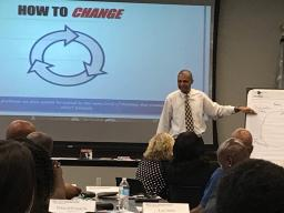 "CRWG Chair William Daniels talks about ""How to Change."""