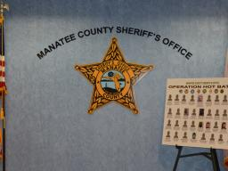 Manatee County Sheriff's Office hosts press conference.