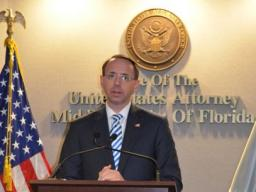 DAG Rosenstein talks about the vulnerablilty of human trafficking victims.