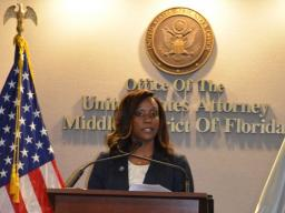 AUSA Stacie Harris discusses the importance of having assistance for victims of human trafficking.