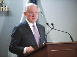AG Sessions commends work of MDFL for efforts fight against opioid crisis.