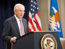Attorney General Sessions delivers remarks