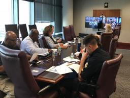 Jacksonville participants participating via live stream