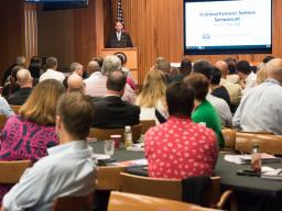 Deputy Attorney General Rosenstein delivers remarks at the National Symposium on Forensic Science