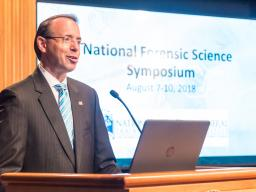 """Forensic science is important to our mission, so Attorney General Sessions has made the effective and reliable use of forensic science a high priority.""—Deputy Attorney General Rosenstein at the National Symposium on Forensic Science"