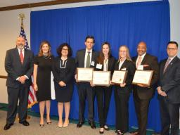 U.S. Attorney Nealy Cox awards Agents from the FBI, Office of Inspector General and Office of the Attorney General