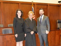 Chief Judge Barbara M.G. Lynn welcomes new AUSA Rebekah Ricketts to the U.S. Attorney's Office in the Northern District of Texas.