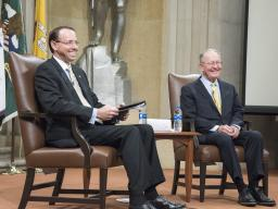 Deputy Attorney General Rod Rosenstein and Senate Education Committee Chairman Lamar Alexander have a conversation on the Congressional view.