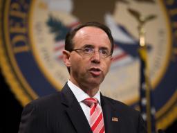 Deputy Attorney Genearl Rod Rosenstein