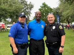 Sanford PD welcomed1500 community members to the NNO event.