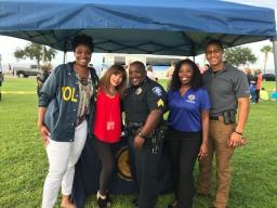 We had a blast with our partners in Sanford at NNO 2018.