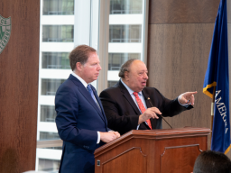 US Attorney Geoffrey S. Berman and John Catsimatidis