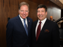 US Attorney Geoffrey S. Berman and Mark Simone