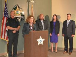 U.S. Attorney Chapa Lopez talks about federal charges.