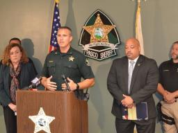 Sheriff Nocco talks about local and federal partnership.