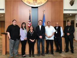 U.S. Attorney Jason Dunn met with Southern Ute Tribal Council members on March 7, 2019