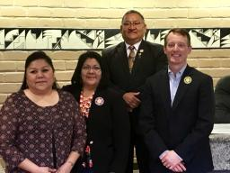U.S. Attorney Jason Dunn met with Ute Mountain Ute Tribal Council members on March 6, 2019