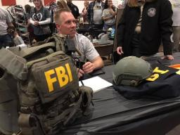 FBI participating in Amarillo's PSN community event.