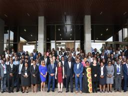 Cybercrime Chief David Tonini and AUSA Andrea Surratt, who are on the forefront of combatting digital currency-enabled cybercrime, conduct a four-day workshop in Lusaka, Zambia sponsored by the Bank of Zambia and the Conference of Western Attorneys General