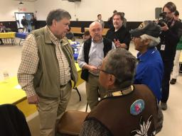 In Galena, Alaska, Attorney General Barr met with Alaska Native youth and elders representing over 200 tribes in Alaska.