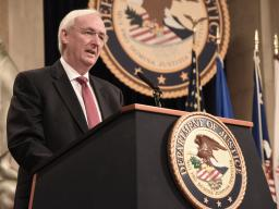 Deputy Attorney General Rosen delivers opening remarks at the Department of Justice Summit on Combatting Anti-Semitism.