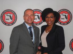 AUSA Thelwell with FGIA President