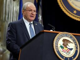 Phil Keith, COPS Office Director and Chair of the President's Commission on Law Enforcement and the Administration of Justice