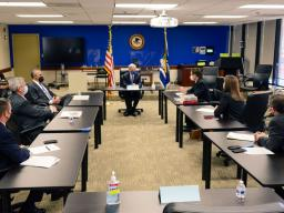 Attorney General Garland visited the United States Attorney's Office for the District of Columbia for additional briefings on the January 6 insurrection and to thank everyone for their tireless work on this and countless other cases.