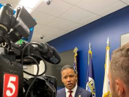 Assistant Attorney General Kenneth A. Polite Jr. discusses the Justice Department's efforts to address violent crime in Nashville and across the United States