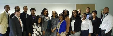 U.S. Attorney Stephanie Finley Southern University students