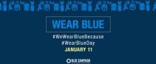 Wear Blue Banner