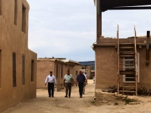 US Attorneys met with Pueblo of Acoma and toured Sky City, the oldest continuously inhabited settlement in North America.
