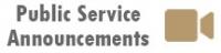 Public Service Announcements Header