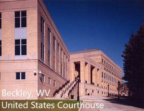 Beckley WV United States Courthouse