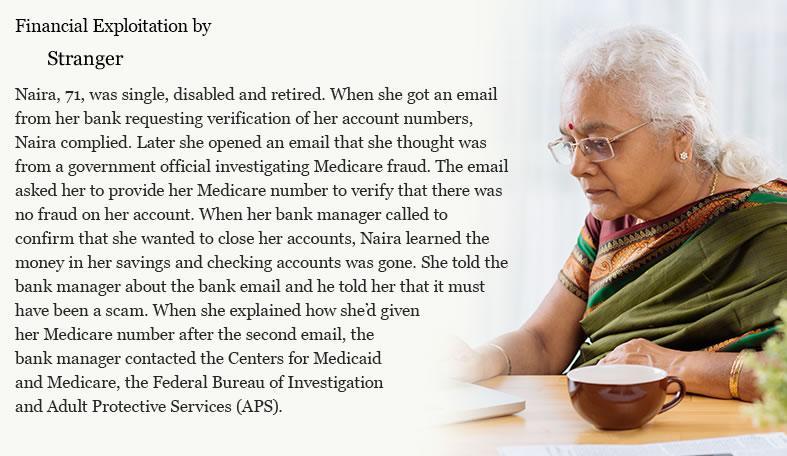 Financial Exploitation by a Stranger