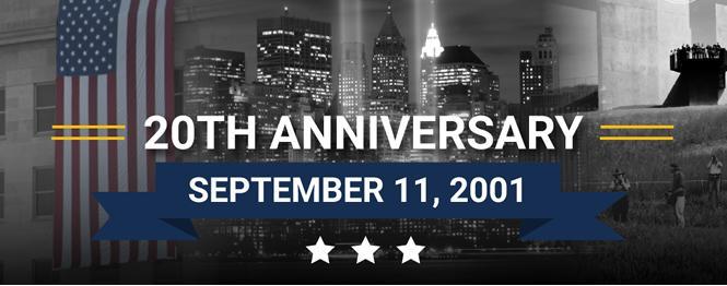 20th Anniversary September 11, 2001