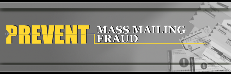 Learn More about Prevent Mass Mailing Fraud Initiative