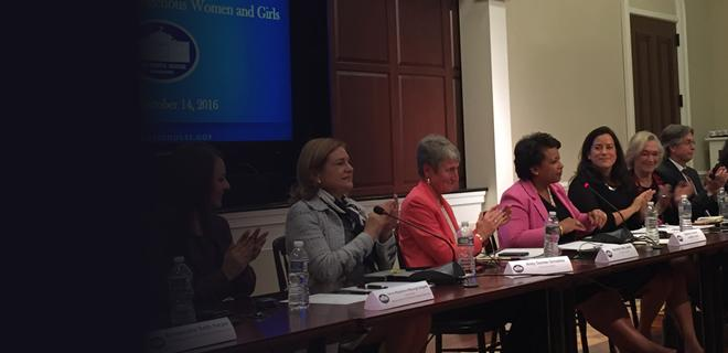 Attorney General Lynch Speaks at Meeting on Violence Against Indigenous Women and Girls