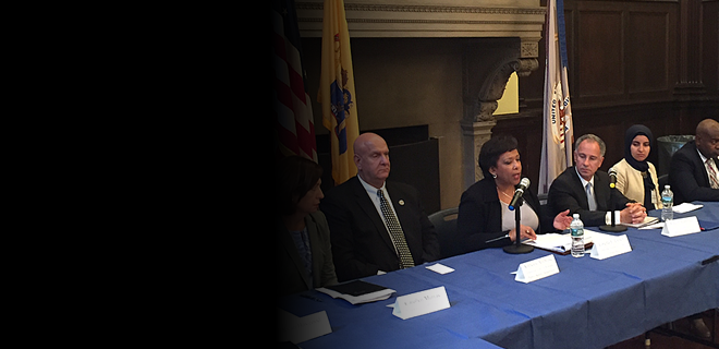 Attorney General Lynch Holds a Justice Forum in Newark, New Jersey