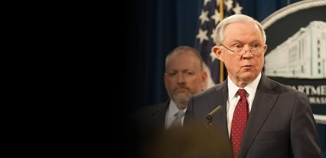 Attorney General Sessions Announces New Prescription Interdiction & Litigation Task Force