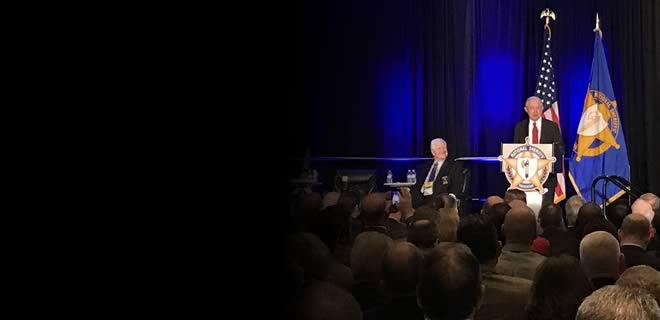 Attorney General Sessions Speaks to the National Sheriffs' Association