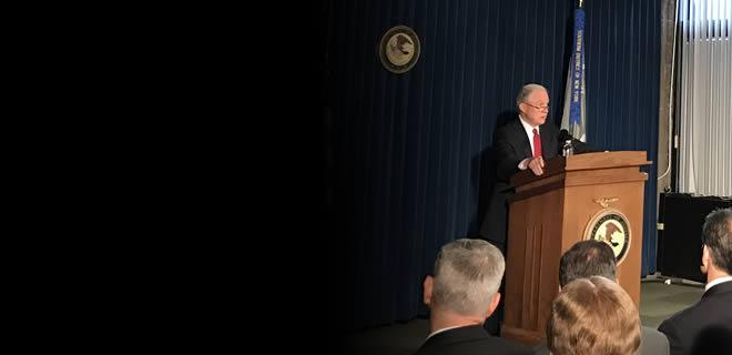 Attorney General Sessions Delivers Remarks in New York City About Defending Our National Security