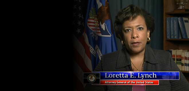 Attorney General Lynch Discusses Federal Election Monitors, Urges All Americans to Vote